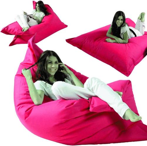 puff almohadon dormipuff - rojo