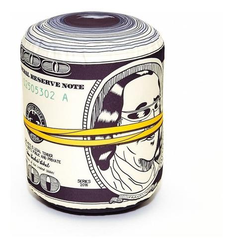puff american dollar linea musical decorativa dolares
