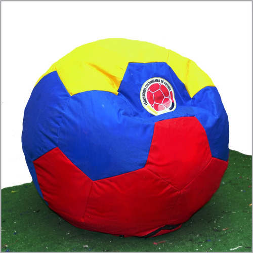 puff balon 100 cm diametro - l + reposapies de colombia