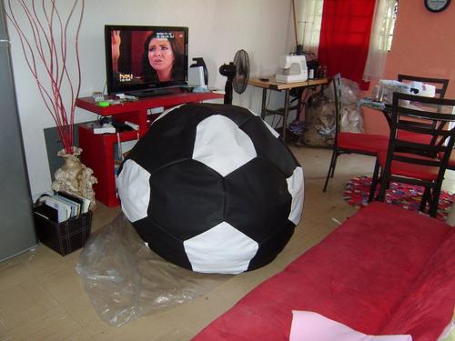 puff balon 120 cm diametro sillón envio gratis