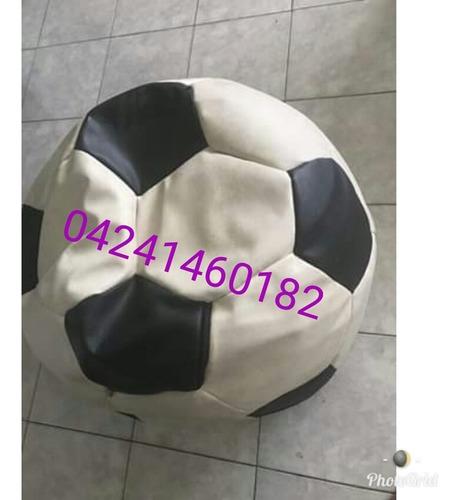 puff balon de futbol