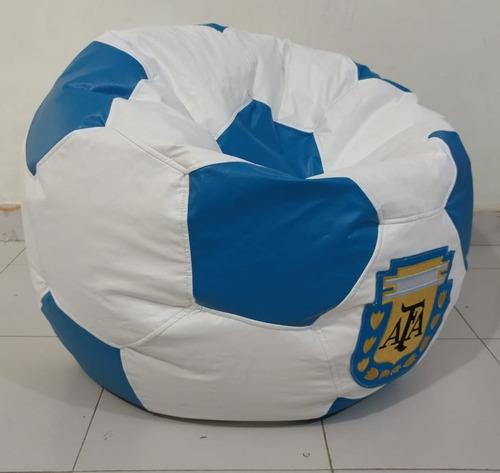 puff balon futbol soccer de argentina 75 cm de diametro