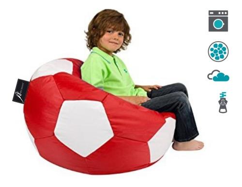 puff balon silla niños varios colores lona promocion biny®