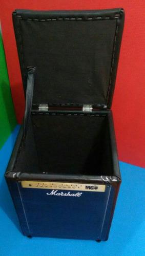 puff baú caixa amplificadora