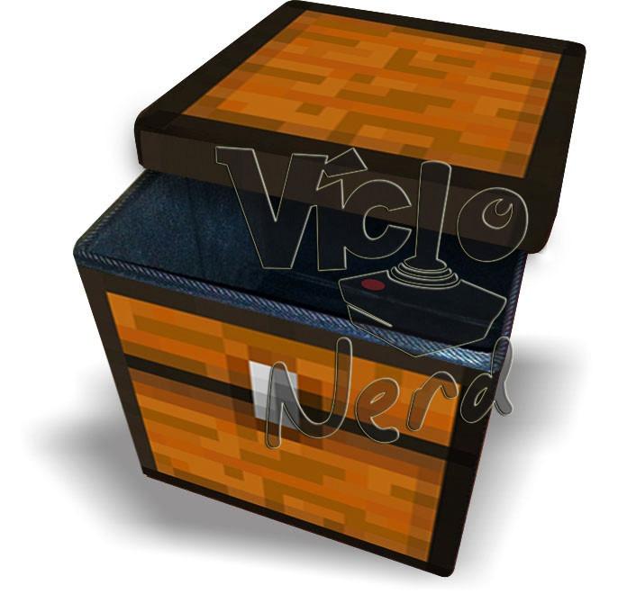 Puff Bau Para Quarto Mercado Livre ~ Puff Bau Desmont?vel Minecraft  Decore Seu Quarto!!!  R$ 229,00 em