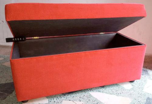puff baul eco-cuero 100 x 45 x 45