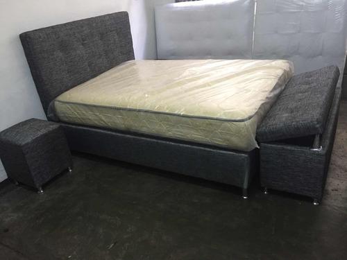puff baúl ó pie de cama a la medida fabricante y tienda