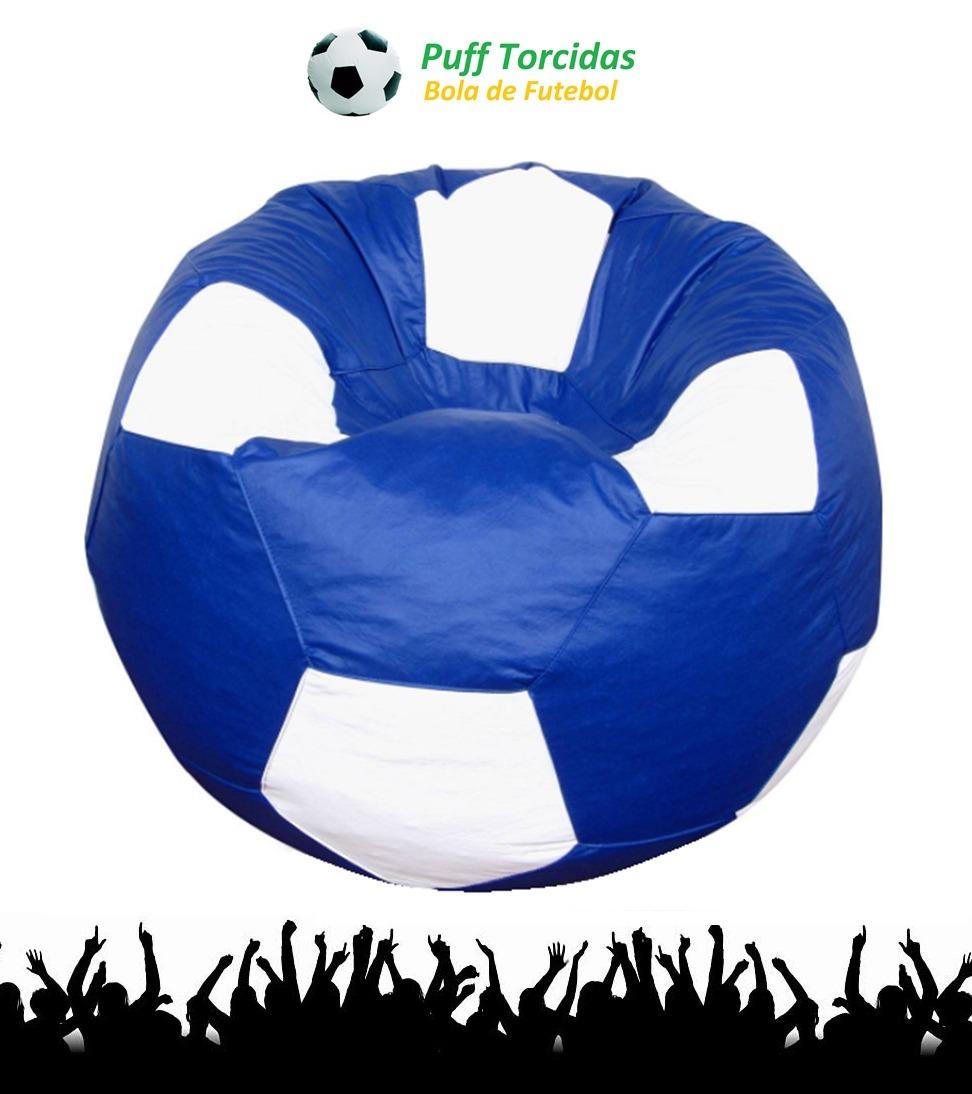 puff bola de futebol grande vários times vazio! Carregando zoom. a157c69a4f76d