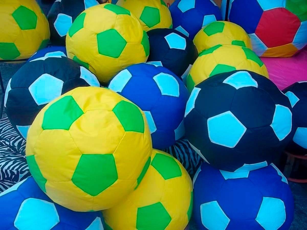 70424fcf80 puff bola futebol infantil cheio quarto criança frete grátis. Carregando  zoom.