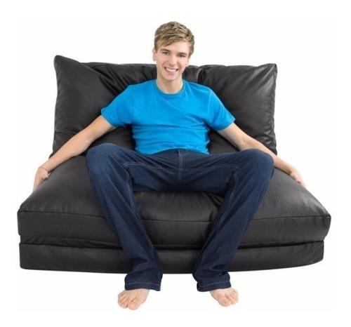 puff cama casal vira sofá vazio * sem enchimento frete free
