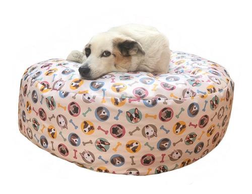 puff cama pet m para cães gatos impermeável fácil limpeza
