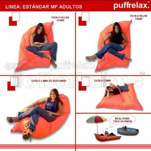 puff cama silla colchón lona tela vacíos sin relleno envíos