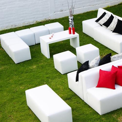 puff cubo minimalista para acompañar tus sillones ,living gh