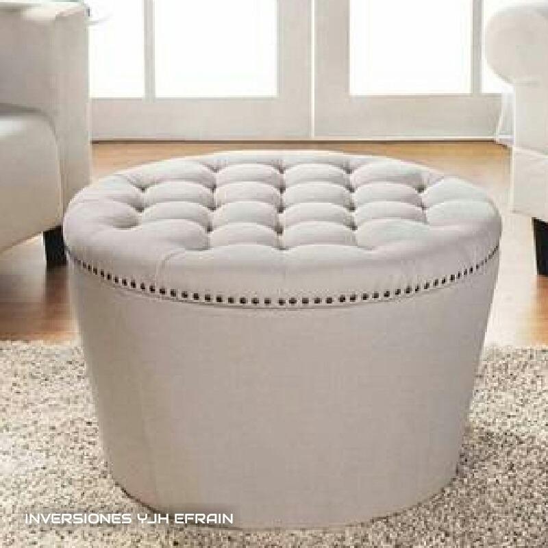 Increíble Muebles De Cuero Otomana Cubos Cresta - Muebles Para Ideas ...
