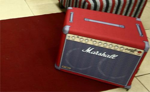 puff de tela impermeable impresa marshall, camara o disco