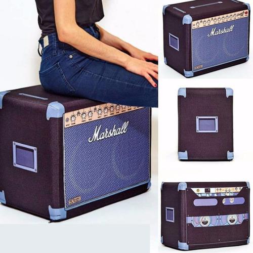 puff marshall diseño rectangular pattauf