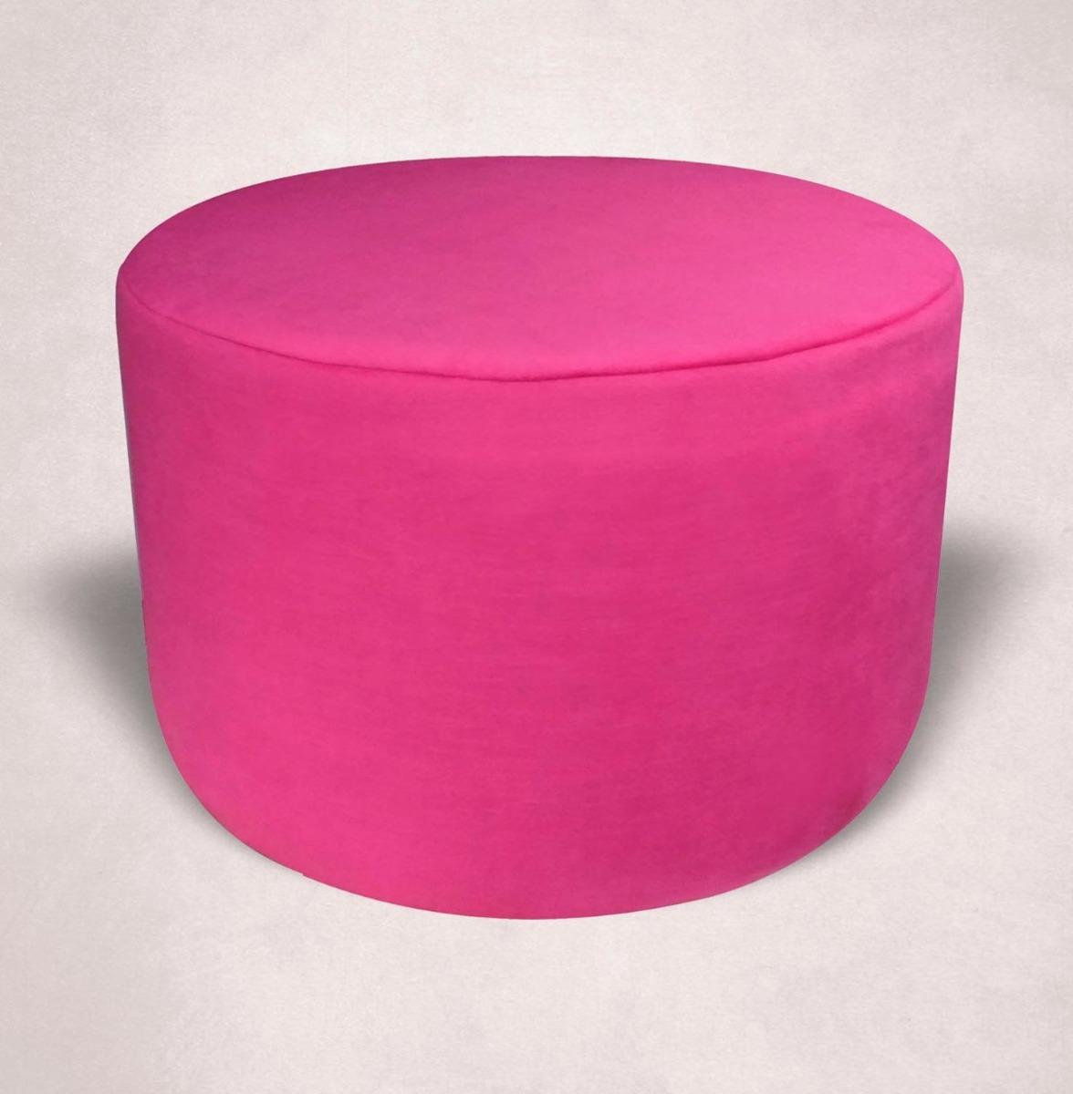 Único Muebles Otomana Pink Redondo Viñeta - Muebles Para Ideas de ...
