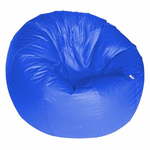 puff pera duplo redondo gigante sala decoração ( vazio )