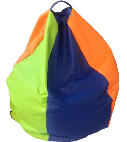 puff pera m tricolor