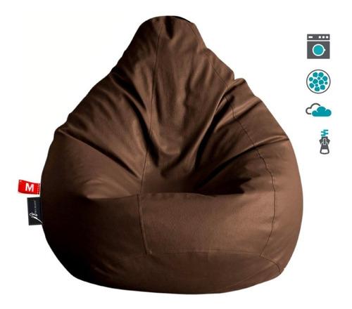 puff pera silla tamaño grande l todos los colores