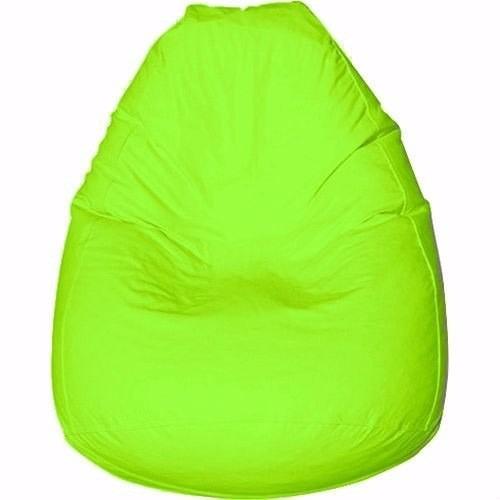 puff pufe puf pera 90cm courino quarto sala verde limão