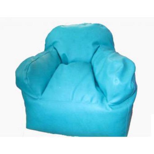 puff silla infantil azul celeste