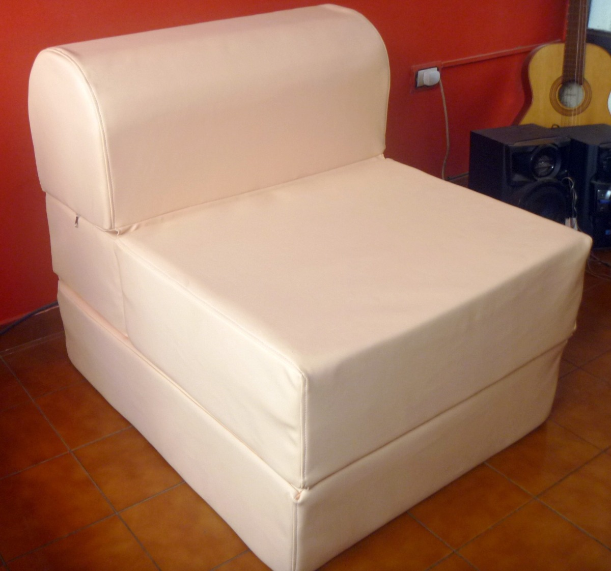 Cama puf puff cama plegable cm with cama puf cool existe for Sillon cama plegable