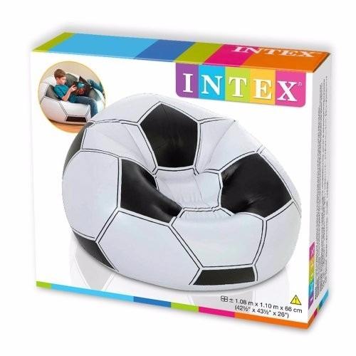 puff sillon mueble inflable intex balón