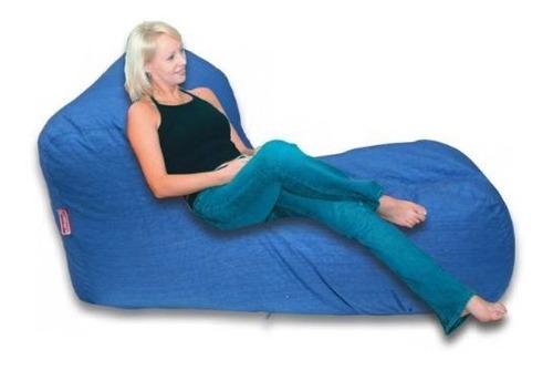 puff sofa relax lona tela lounge vacíos sin relleno envíos
