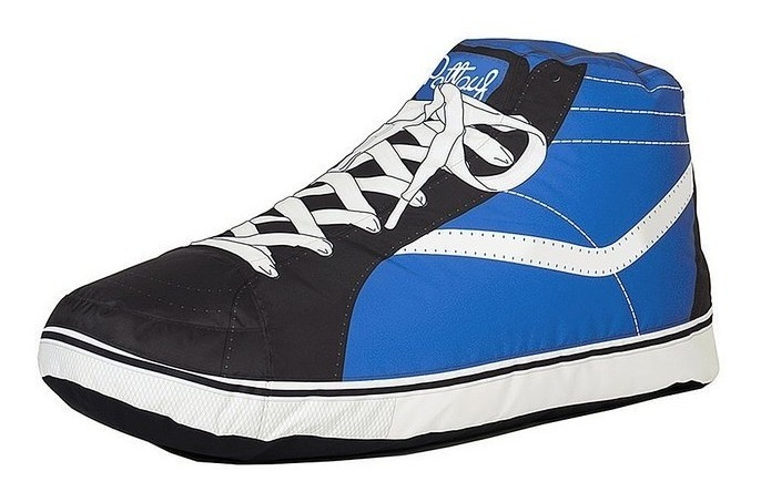 Puff Zapatilla Vans Blue O Red Holacasa