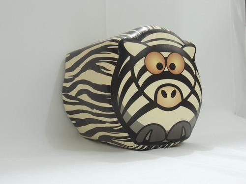 puff zebrinha