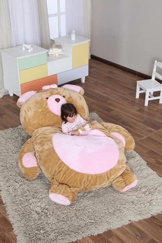 puffs para deitar, ursa rosa m