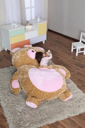 puffs para deitar ursa rosa p
