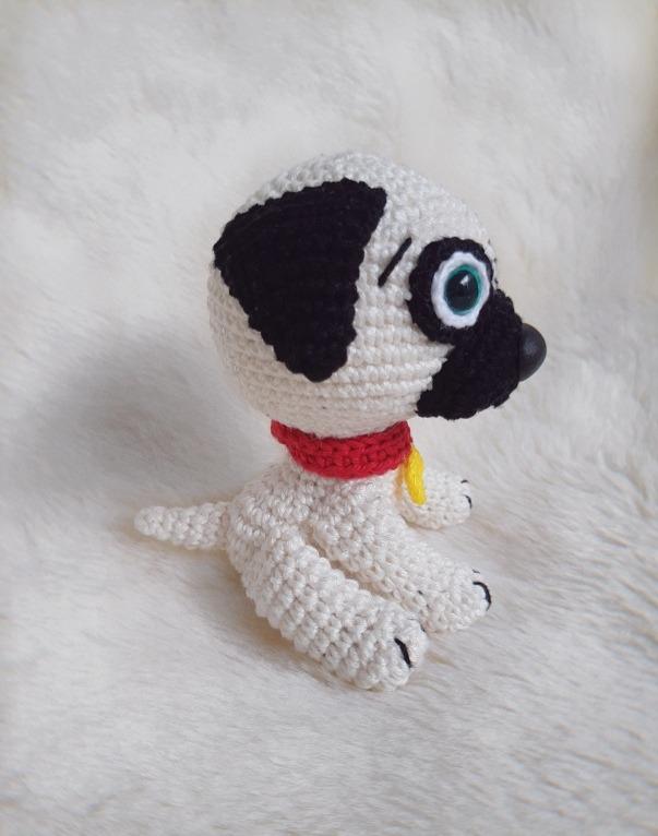 Baby Pug Dog amigurumi pattern | Crochet dog, Crochet dog patterns ... | 766x603