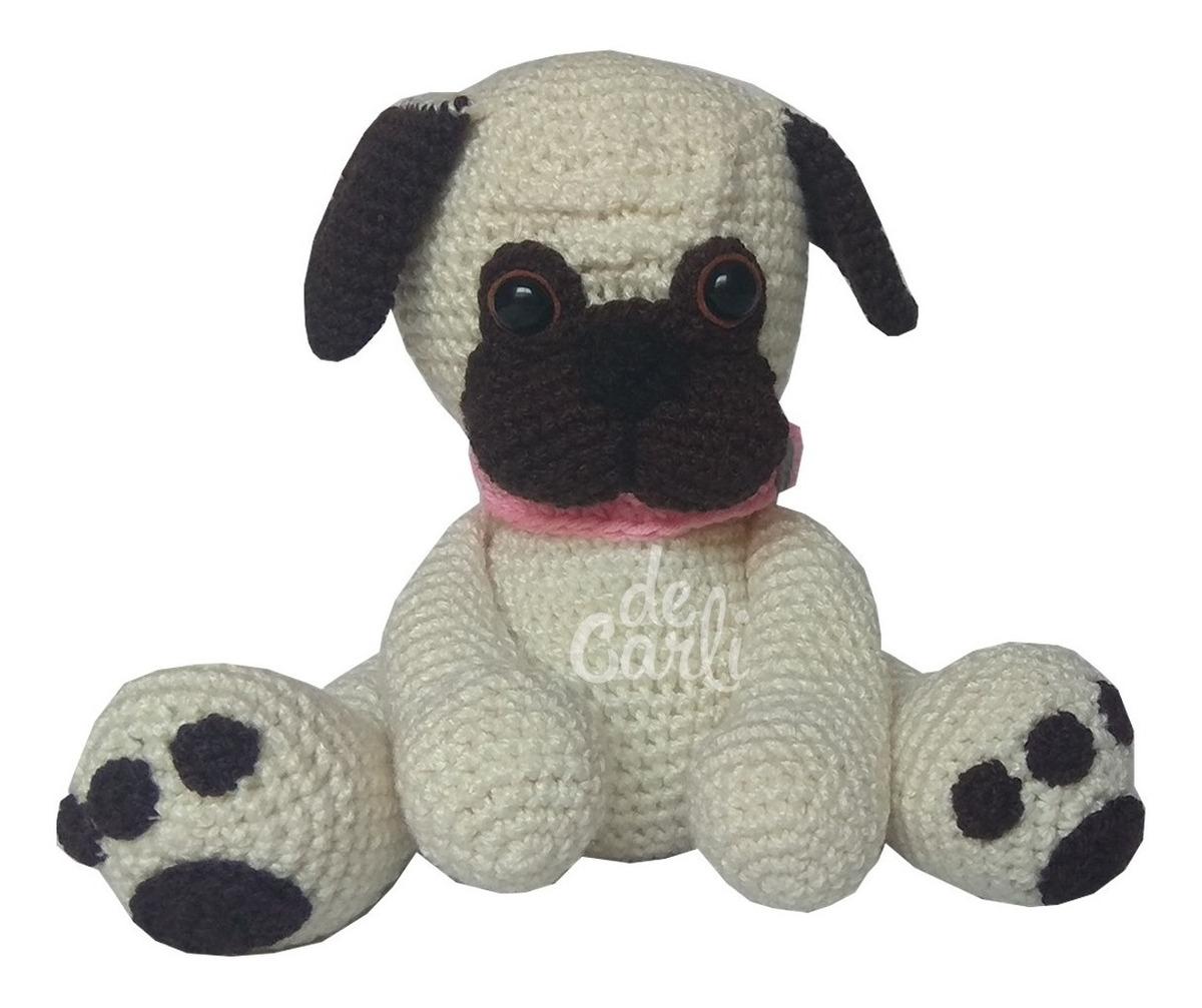 Mini Amigurumi Pug Free Crochet Pattern | Padrões de animais de ... | 1007x1200