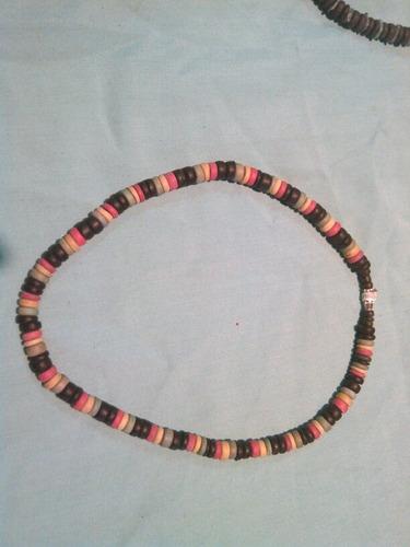 pukas rastafari / collares playeros 5verdes
