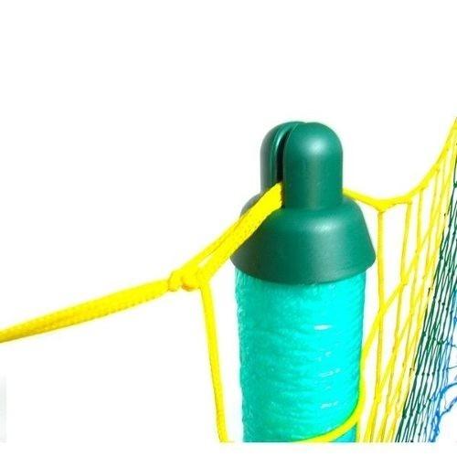 pula pula cama elástica 4,27m colorida c/escada