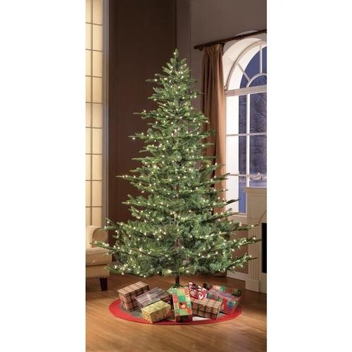 puleo arbol company 7.5' pre-lit aspen green fir arbol
