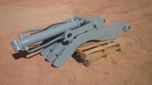 pulgar garra grapa hidraulica para excavadora hitachi ex450