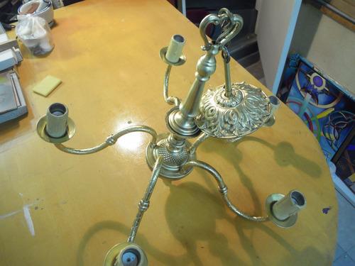 pulido de bronce, cableado y laqueado de metales
