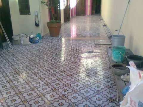 pulido de mosaicos