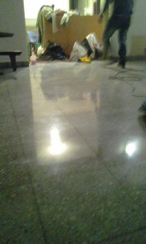 pulido de mosaicos calcareos y marmoles pulido de escalera