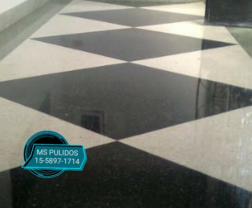 pulido de mosaicos-pisos-calcareo-granito-marmol-vitrificado