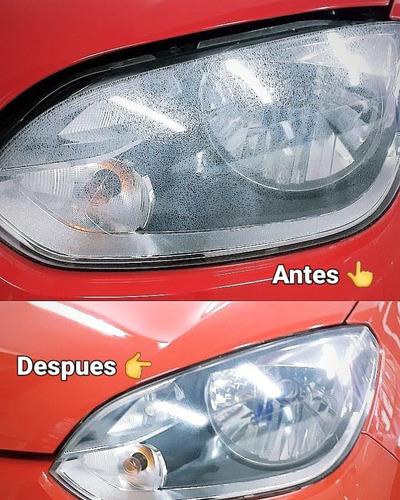 pulido de opticas (el par ) + sellado (proteccion)