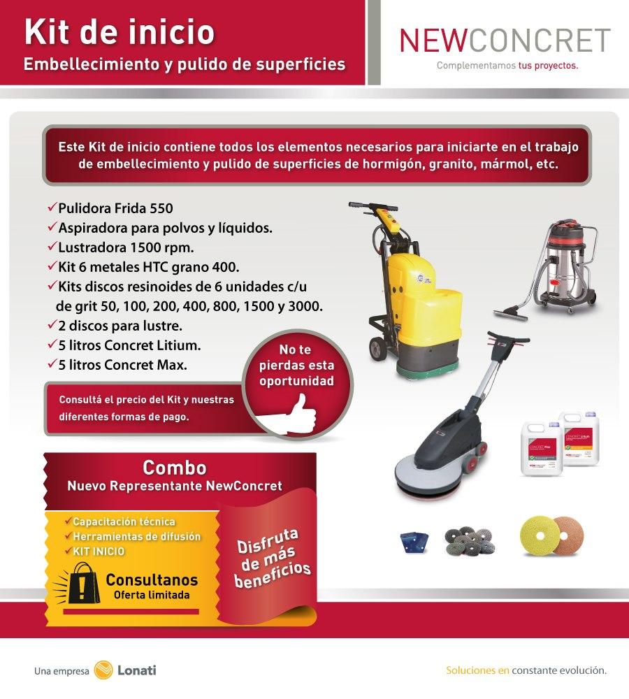 Pulido de pisos de cemento hormig n gr nito kit inicio for Pulido de pisos de granito
