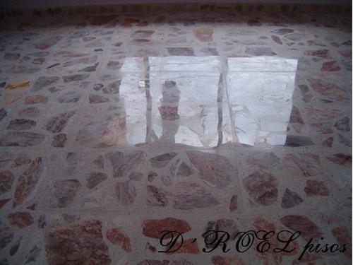 Pulido de pisos de terrazo en mercado libre for Cemento pulido precio m2