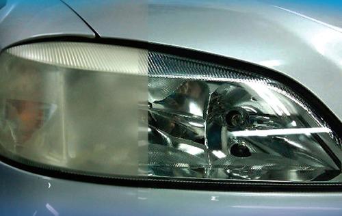 pulido faroles/ faros delanteros & traseros profesional auto