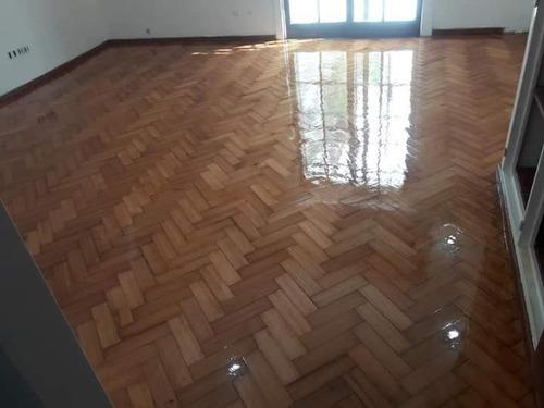pulido plastificado de piso parquet