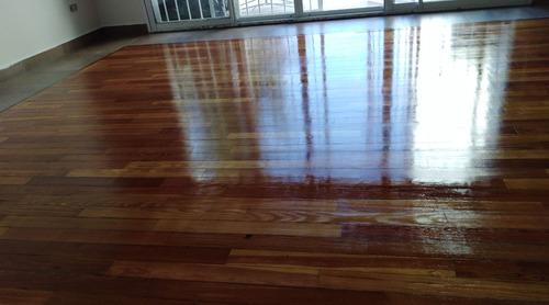 pulido plastificado e hidrolaqueado de parquet (250x m2)