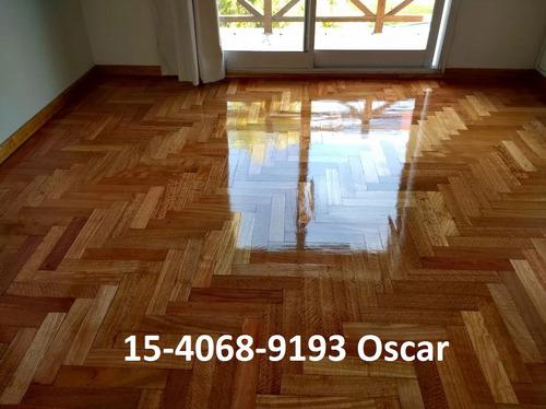 pulido, plastificado e hidrolaqueado de pisos de madera